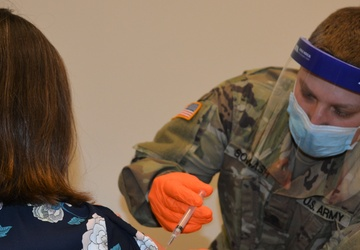 Pa. National Guard supports vaccination clinics for teachers