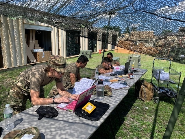 The 147th Medical Detachment Veterinary Services (MDVS) conducts inventory