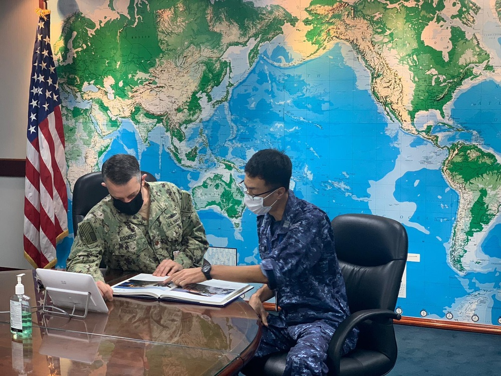 CTF 73, JMSDF Work Together to Strengthen Logistics Interchangeability in Indo-Pacific