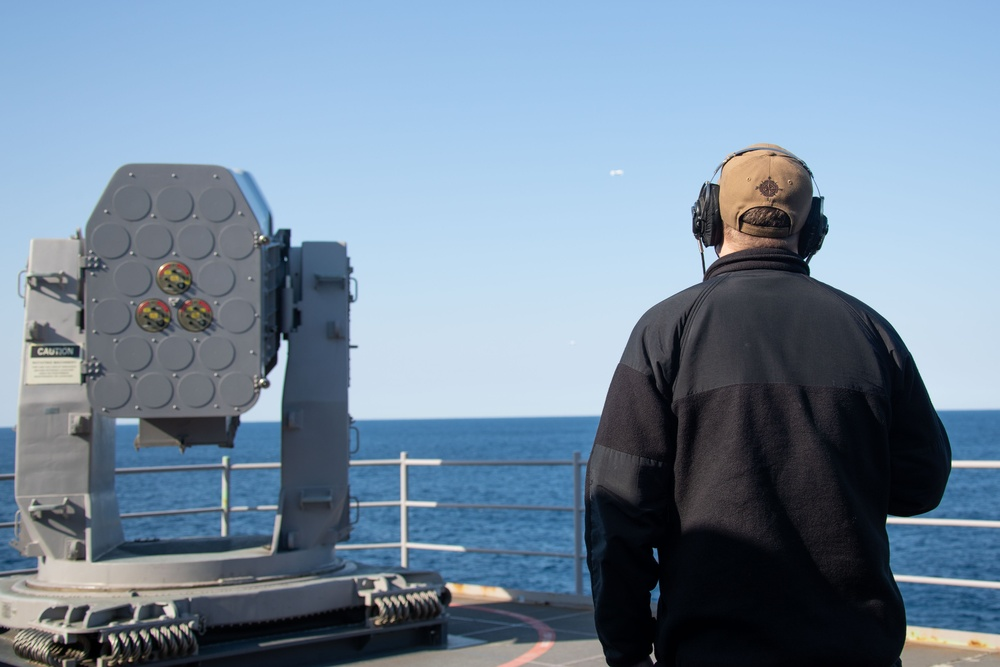 Combat Systems Ship Qualification Test