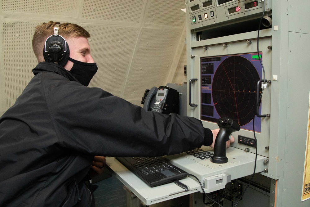 Close-in Weapons System Test