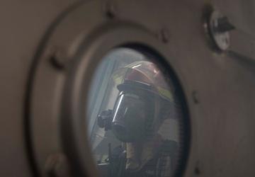 Damage Control Training Evolution aboard Rafael Peralta