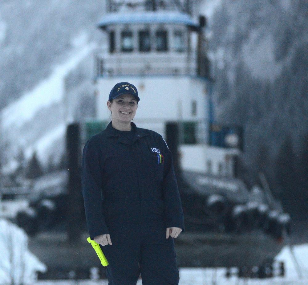 A soaring career in Seward, Alaska: Coast Guard marine science technician earns meritorious advancement