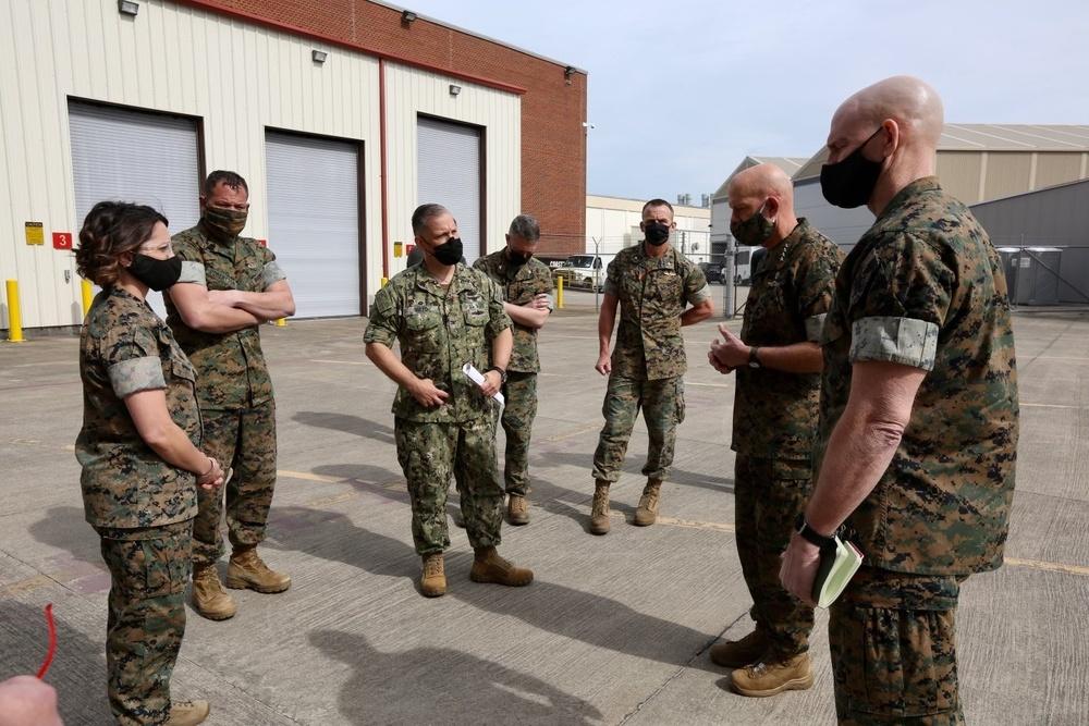 Gen. Berger visits Fleet Readiness Center East