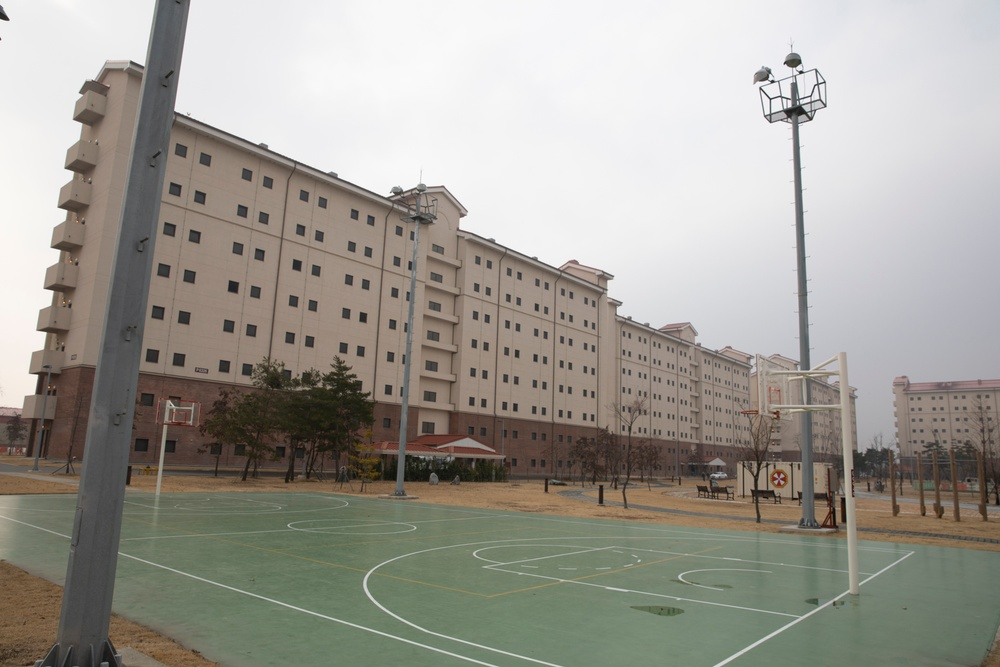 Live Work Play: Barracks Buildings on Camp Humphrey