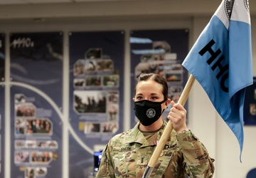 Pa. National Guard members pass command of HHC, White House Communications Agency