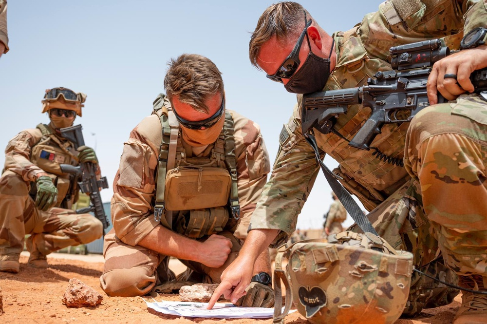 U.S. Africa Command forces conduct operational assessment in Timbuktu, Mali
