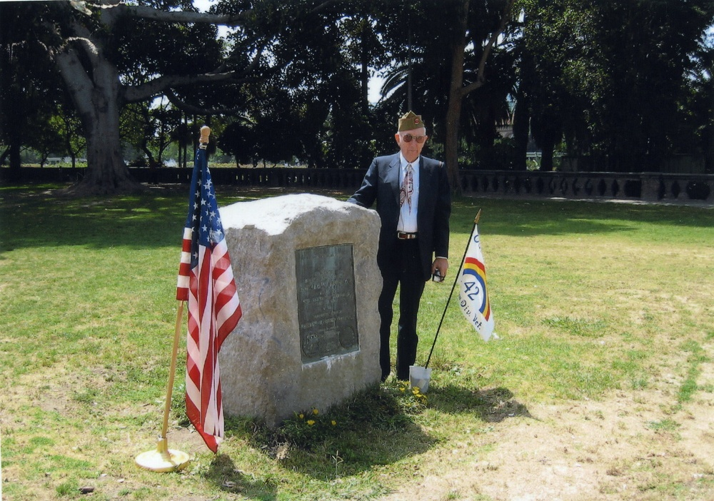 97-year-old son honors his father, a California National Guardsman's Legacy
