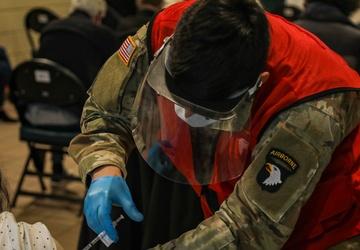 Strike Soldiers continue FEMA support in Ohio