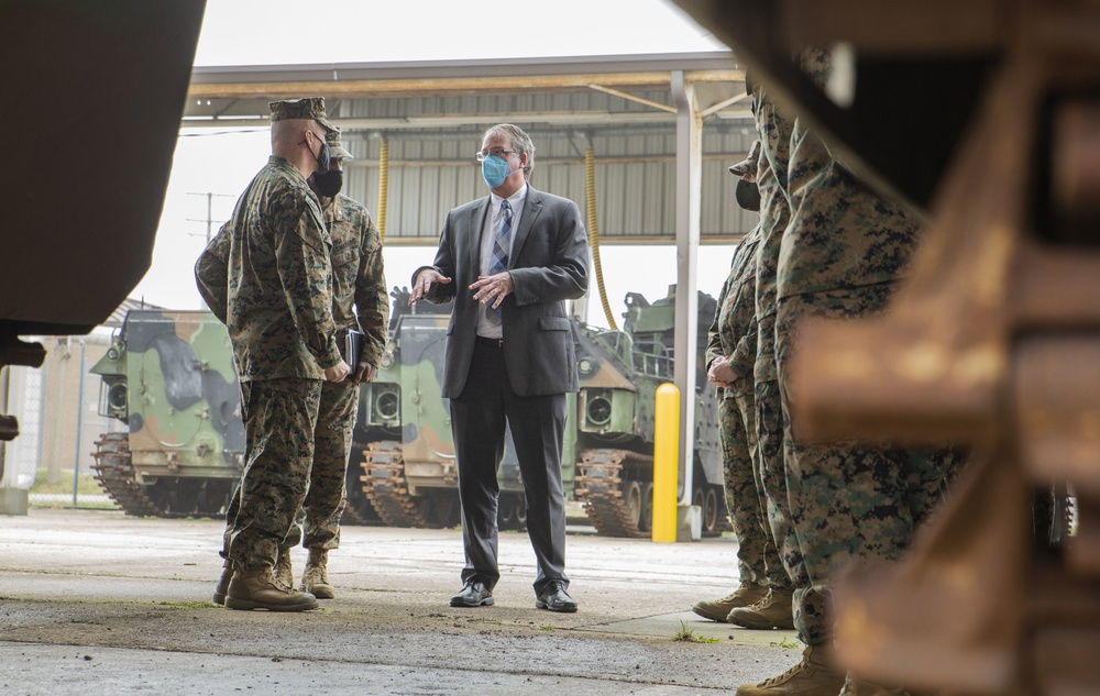 Secretary of the Navy (Acting) Visits Joint Expeditionary Base Little Creek-Fort Story