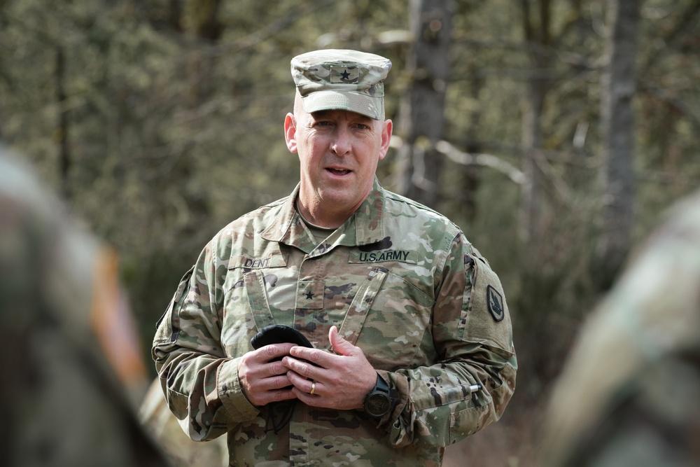 Brig. Gen. Dan Dent, Commanding General of the Washington Army National Guard