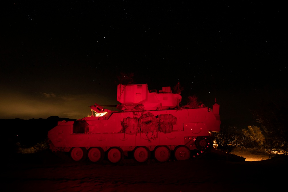 Field Artillery Conducts Live Fire Exercise