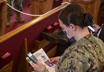 Sailors receive COVID-19 vaccines