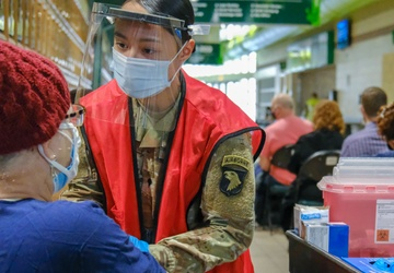 U.S. Army Soldiers support CVC in Cleveland