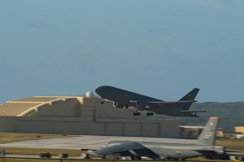 McConnell Reservists fly KC-46A at Cope North 21