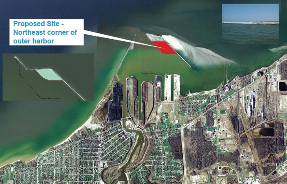 USACE Buffalo District to construct beneficial use of dredged sediment placement area in Ashtabula