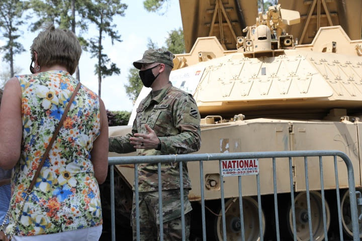 3rd Infantry Division participates in Military Appreciation Day