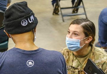 Soldiers and Airmen support CVC in Cleveland