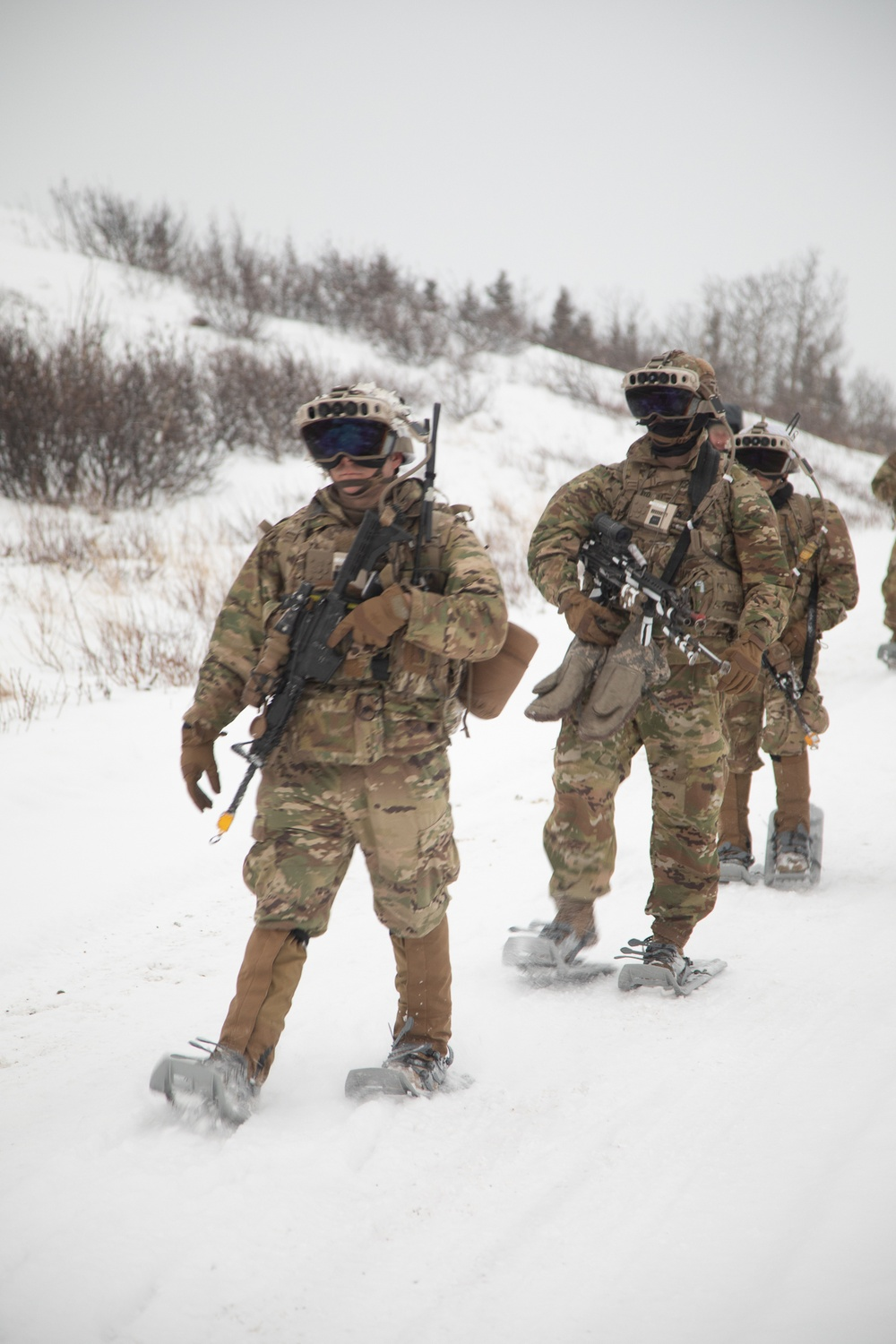 IVAS system undergoes extreme cold-weather testing at U.S. Army Cold Regions Test Center
