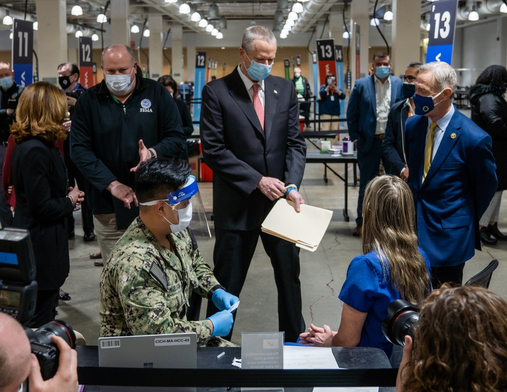 Mass. State Leadership Visits Boston CVC