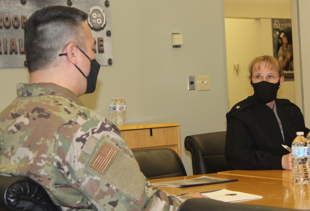 Indo-Pacific Command Surgeon visits, gains insight on DLA Troop Support