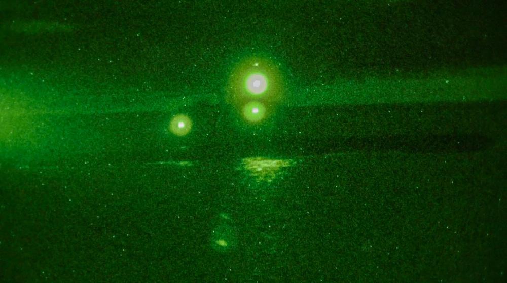 MRF-E Marines with LAR Conduct Submarine Overwatch