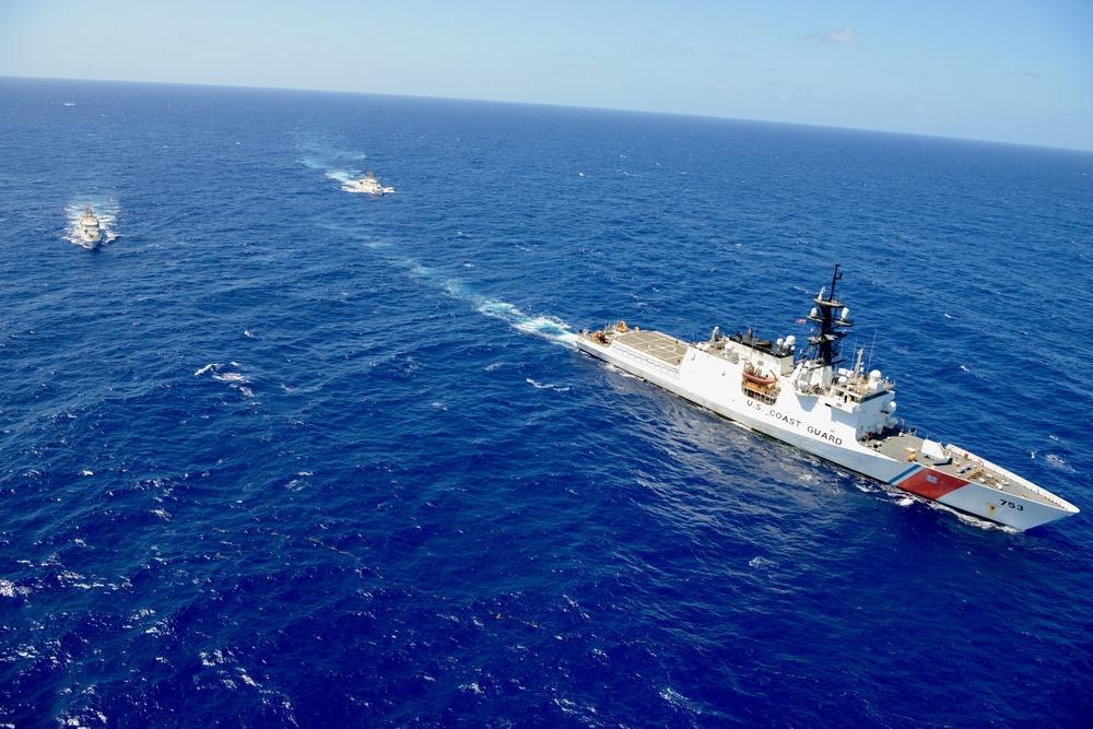 U.S. Coast Guard ships depart Puerto Rico to strengthen Trans-Atlantic ties