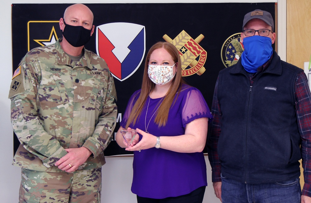 Department of the Army Civilian at Sierra Army Depot honored by industry peers