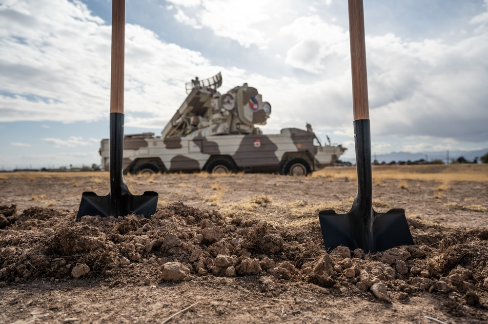 365th ISRG breaking ground for new Nellis AFB facility