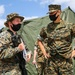 Marines with 3d Supply Battalion demonstrate their field communication capabilities