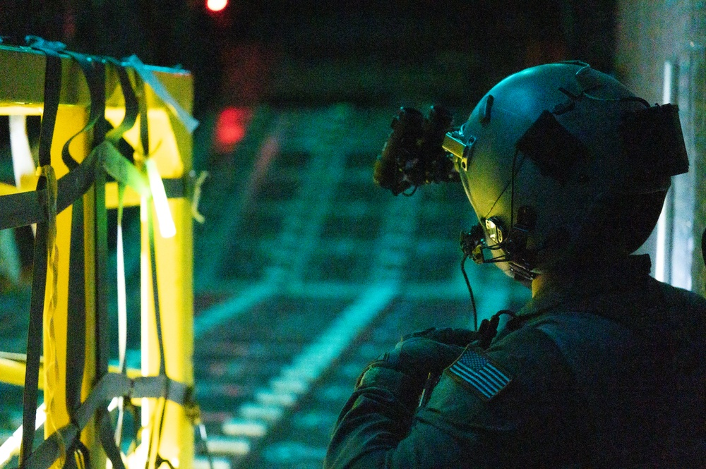 19 SOS Airmen train on MC-130H