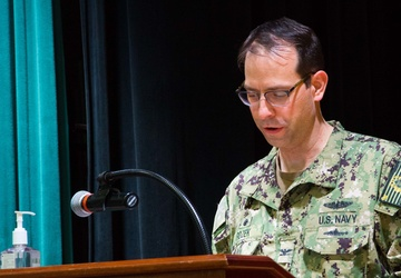 COMSUBRON 21 welcomes new commodore