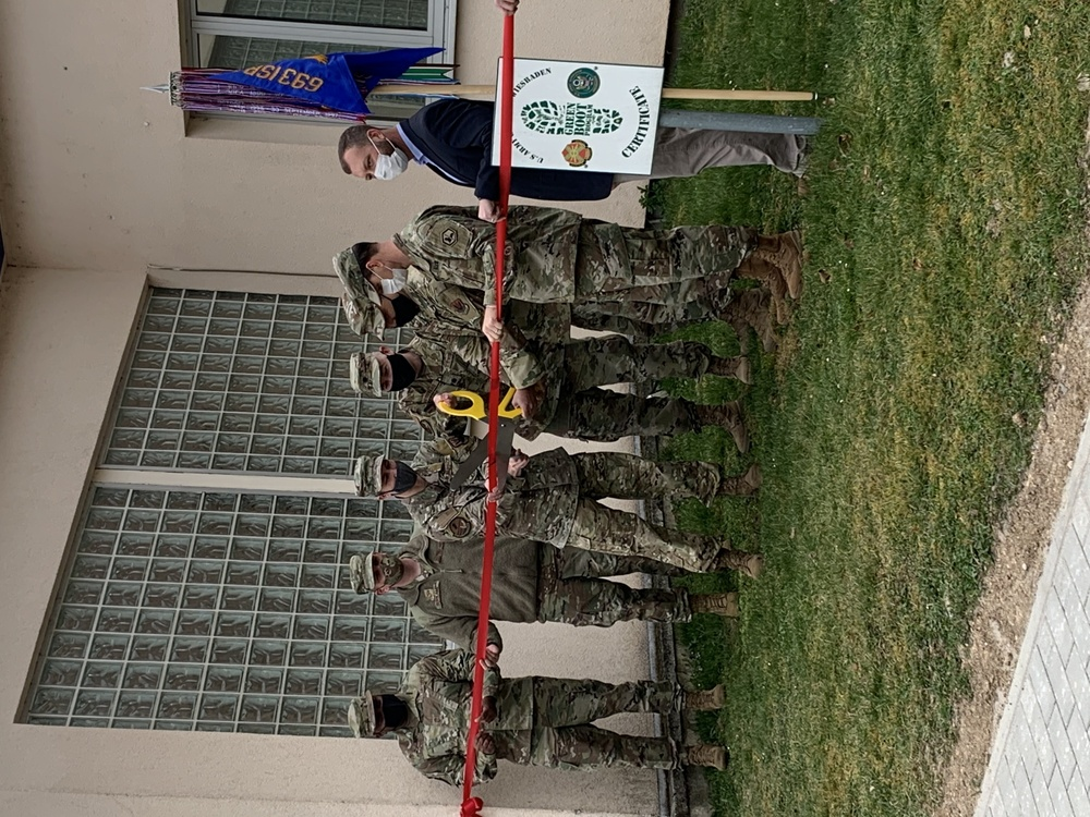 The Air Force 402nd Intelligence Squadron moves to Clay Kaserne