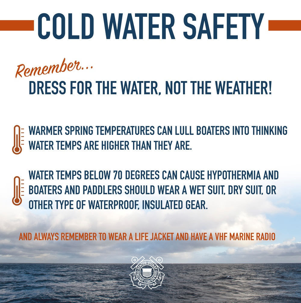 Dress for the water, not the weather