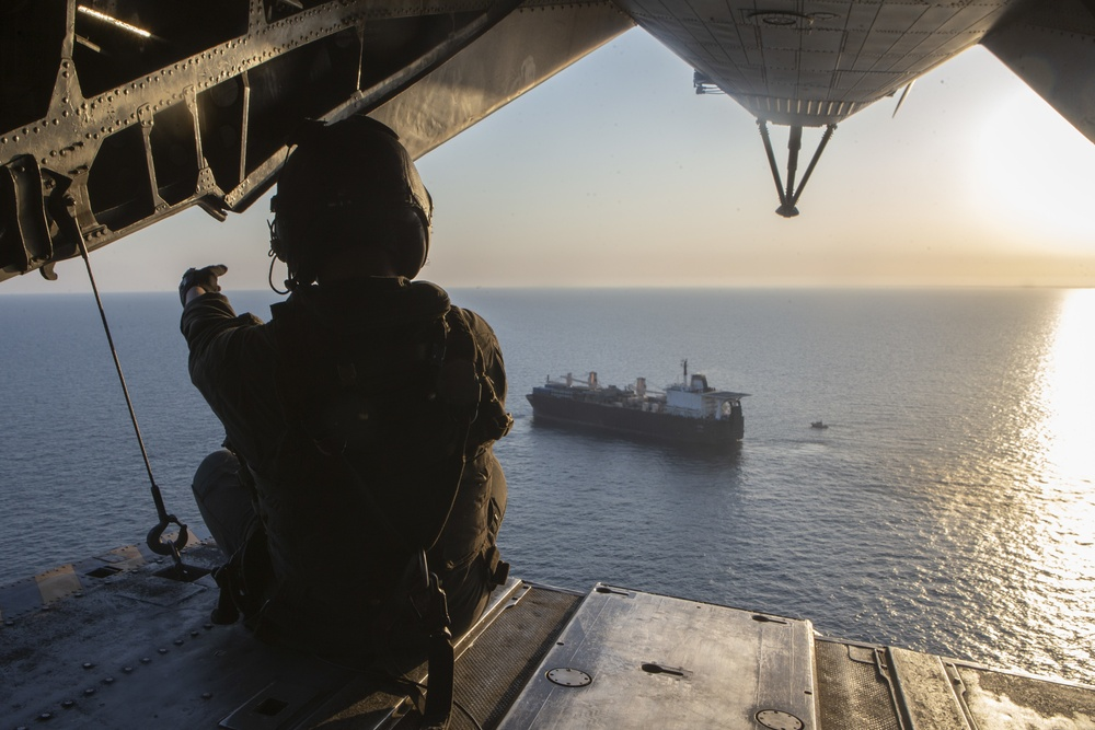 2nd MAW Marines participate in operational logistics exercise