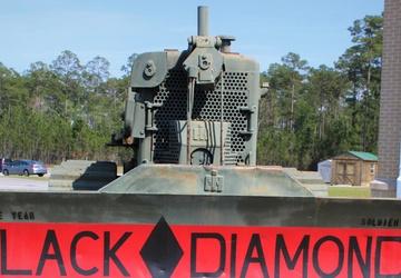 Black Diamonds prepare to demolish at Best Sapper Competition