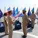 USS Manchester Change of Command