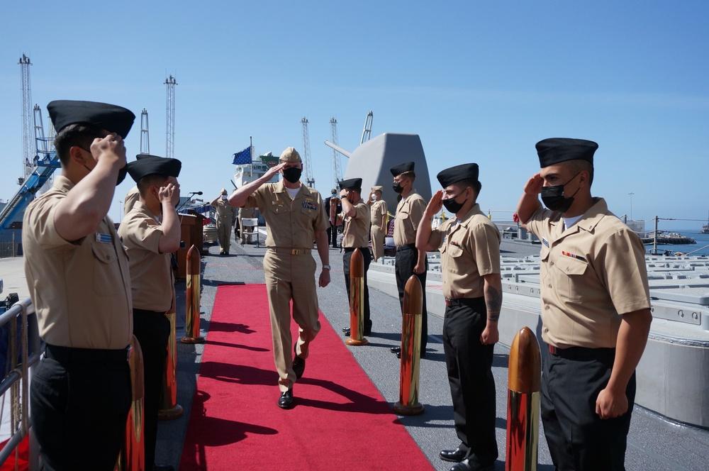 USS Lake Champlain Change of Command