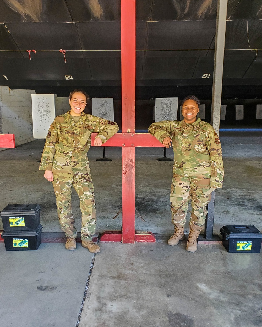 Two JB Charleston Airmen break barriers to become Reserve wing's first