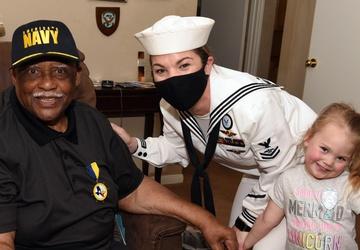 NTAG San Antonio honors 90-Year-Old Navy Chief
