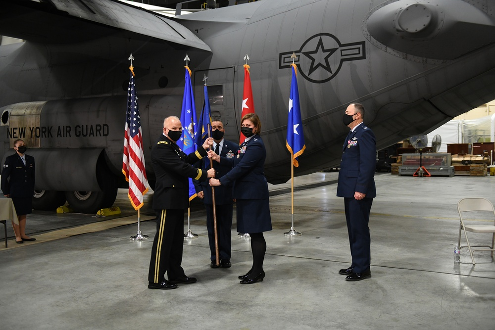 109th Airlift Wing Change of Command
