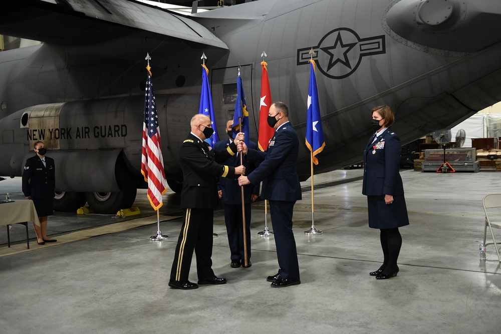 109th Airlift Wing Change of Command Ceremony
