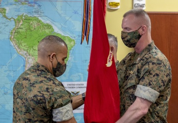 US Marine Corps Forces South Change of Command Ceremony