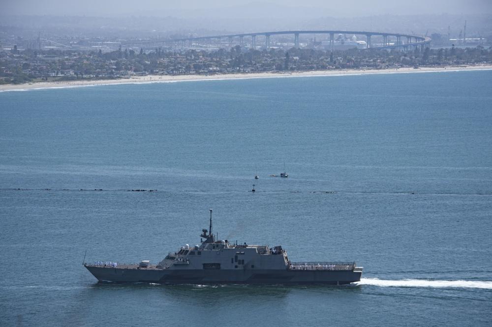 USS Freedom Returns From Final Deployment