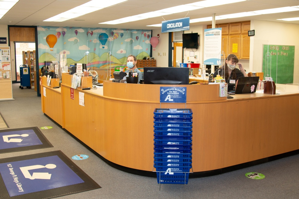 Hays Library reopens for in-person services