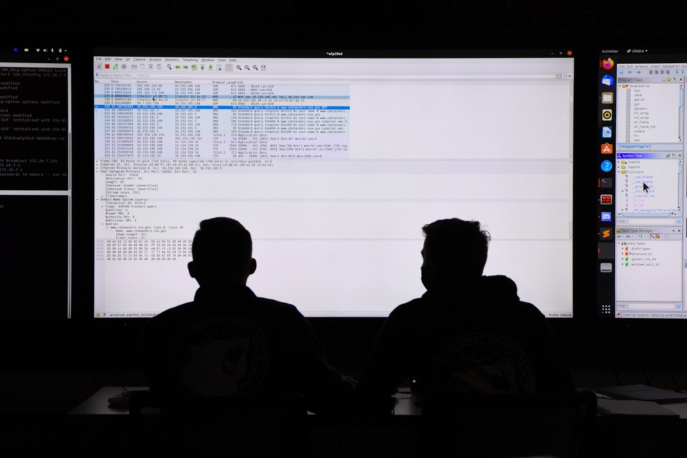 U.S. Coast Guard Academy Participates in NSA Cyber Exercise 2021