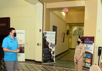 America's Navy holds Navy Promotional Day at Texas A&M-San Antonio