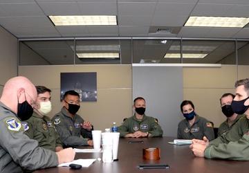 4th AF A3 team visits Alamo Wing