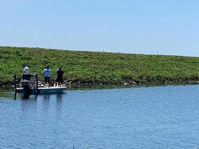 Local boaters fish on Lake Okeechobee