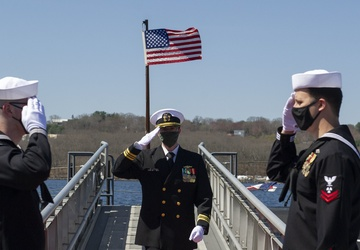 Historic Ship Nautilus Gets New Leadership